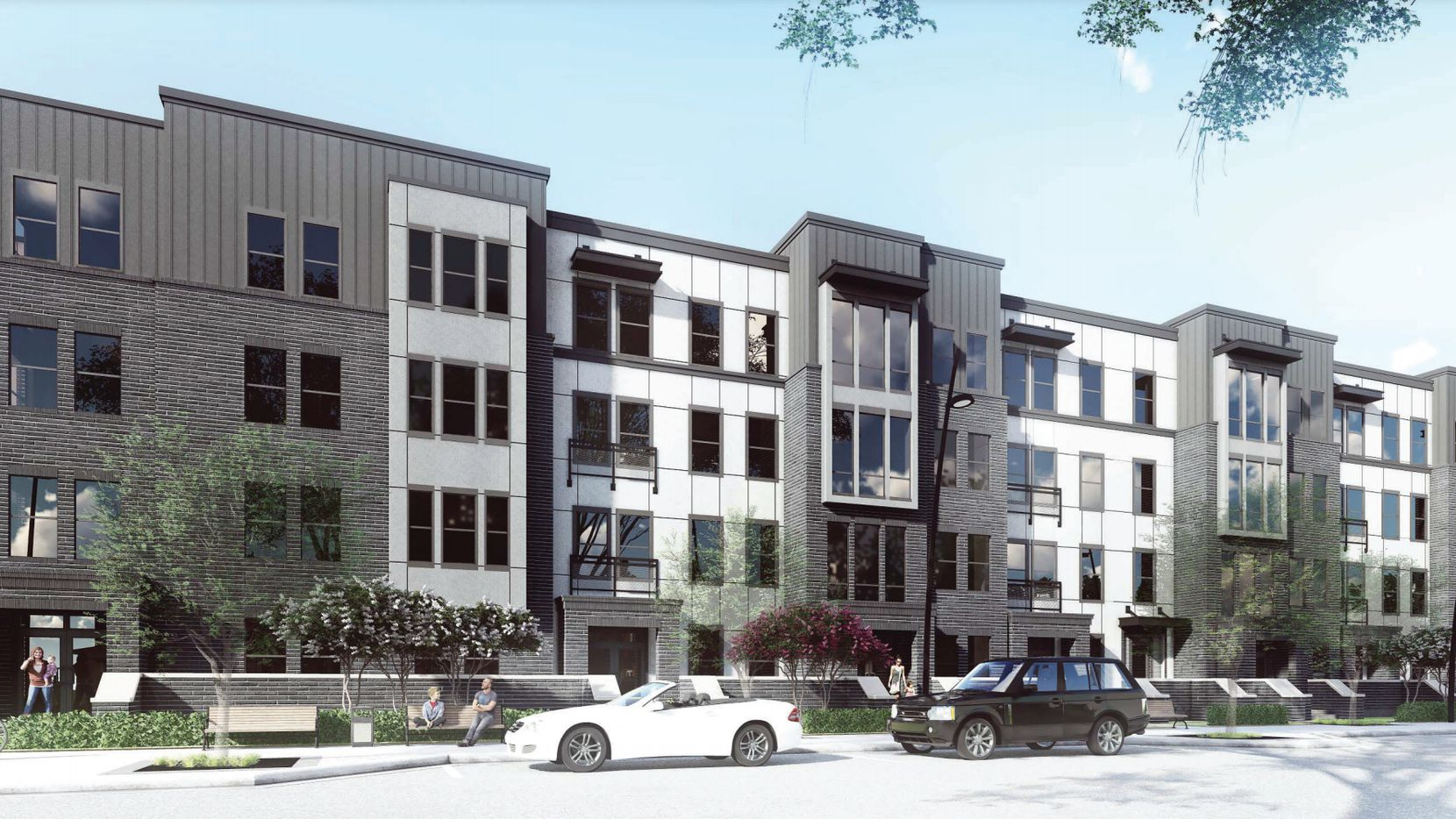 The rental community is planned on Spring Valley Road west of U.S. Highway 75.