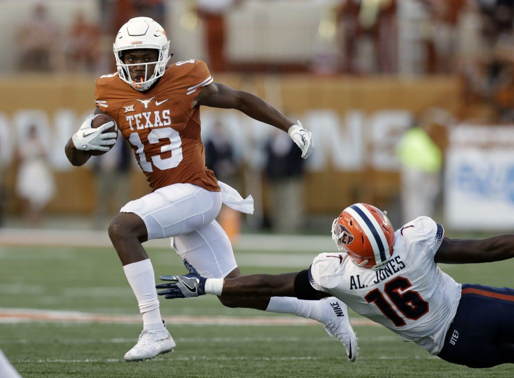 Jerrod Heard celebrates birthday with two touchdown grabs against UTEP