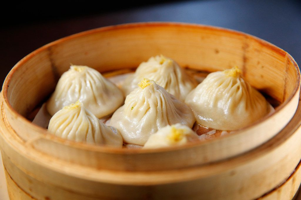 Steamed pork and crab meat juicy dumplings (xiao long bao) at Fortune House  (Tom Fox/Staff Photographer)