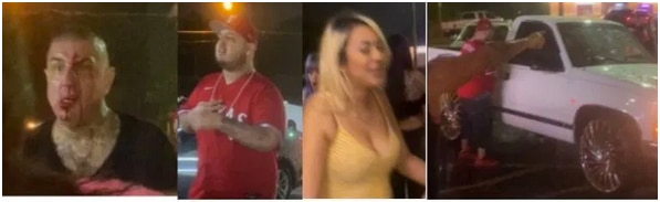 Police released these images in connection with the fatal shooting of a man who reportedly tried to break up a fight outside a north Oak Cliff restaurant on Friday, June 19, 2020.