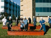 Children's Health leaders broke ground on its Plano campus expansion Tuesday. The new tower, anticipated to be completed in 2024, will increase the hospital's specialty care programs.