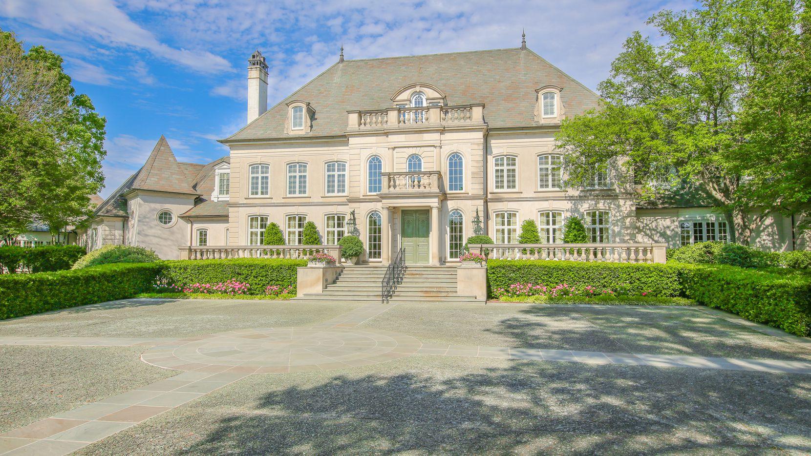 The Pilgrim estate is in Pittsburg northeast of Dallas.