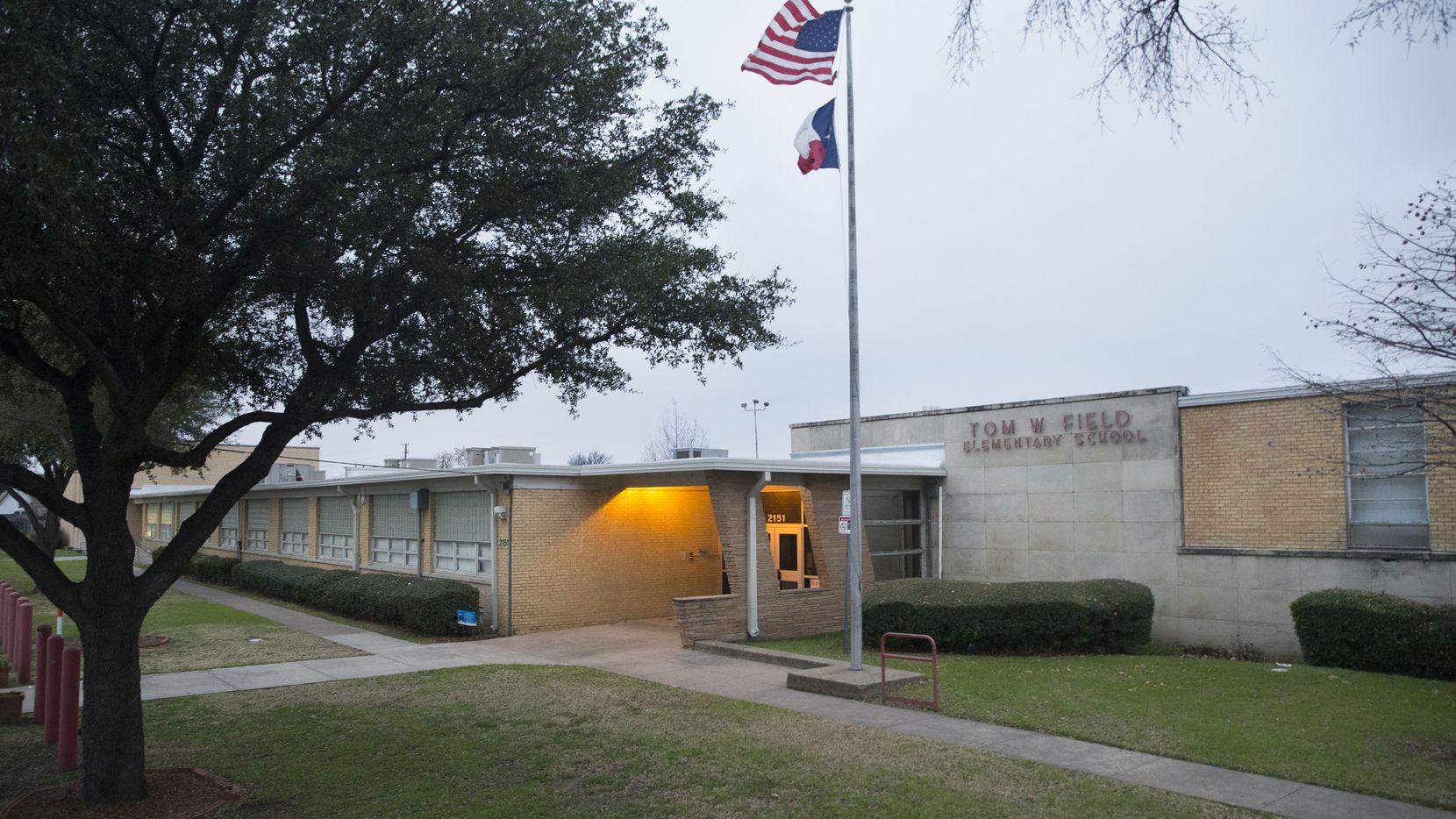 Tom Field Elementary School in Dallas on Sunday, January 13, 2019.
