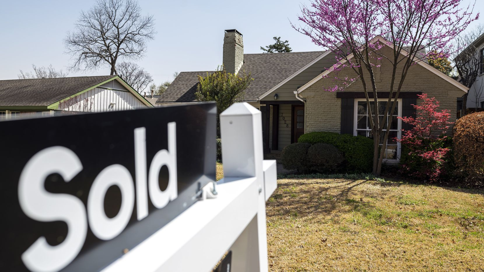 Dallas-area home prices were up by more than 9% year-over-year in January.
