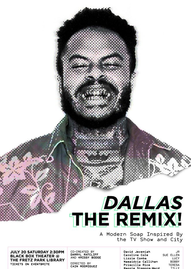 The poster for Dallas The Remix.