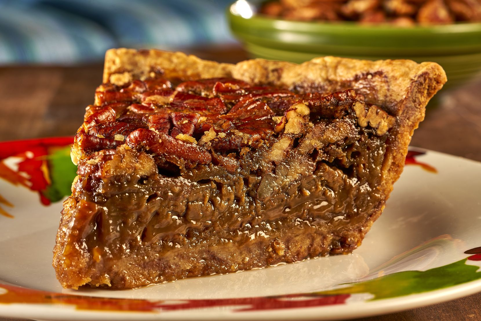 At the Haywire and The Ranch at Las Colinas, guests can order the special Route 66 pecan pie (made with a cinnamon bun crust) a la carte for $50, or for $40 as an addition to the restaurants' Thanksgiving dinner curbside kit.