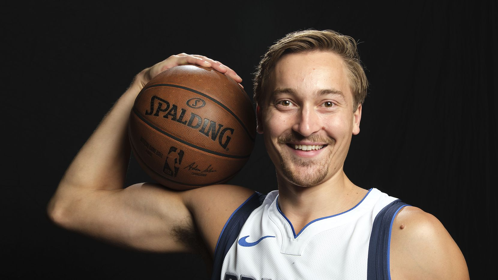 Dallas Mavericks guard Ryan Broekhoff  photographed during media day activities at American Airlines Center on Monday, Sept. 30, 2019, in Dallas.
