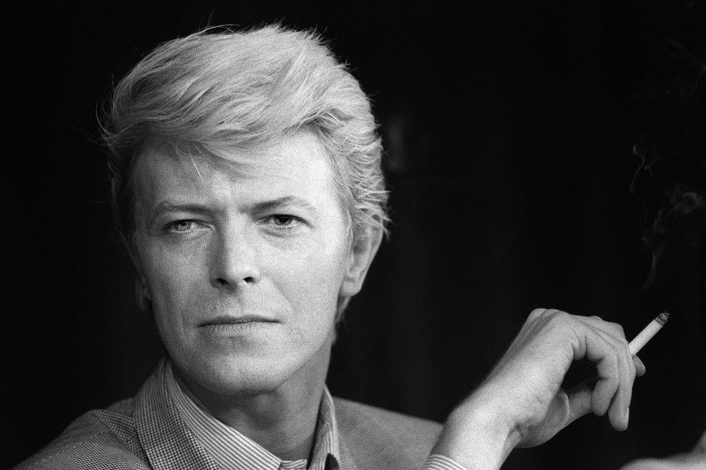 A portrait taken on May 13, 1983 of British singer David Bowie.
