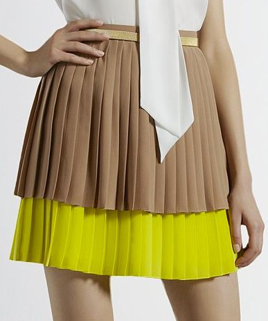 Last fall, The RealReal formed a partnership with Gucci to launch an online shop featuring Gucci resale items. Pictured here is Gucci's bi-color pleated skirt, which retailed at Saks Fifth Avenue two years ago for $1,195. The skirt is presented as an example and may not be available on The RealReal.