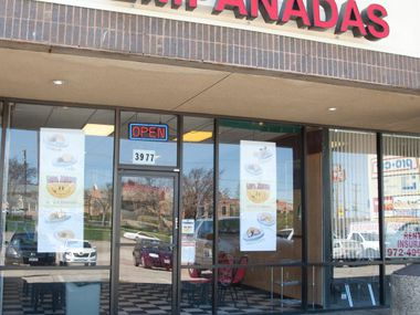 The exterior of Empa Mundo, an empanada shop in Irving, shown in a photo from 2010.