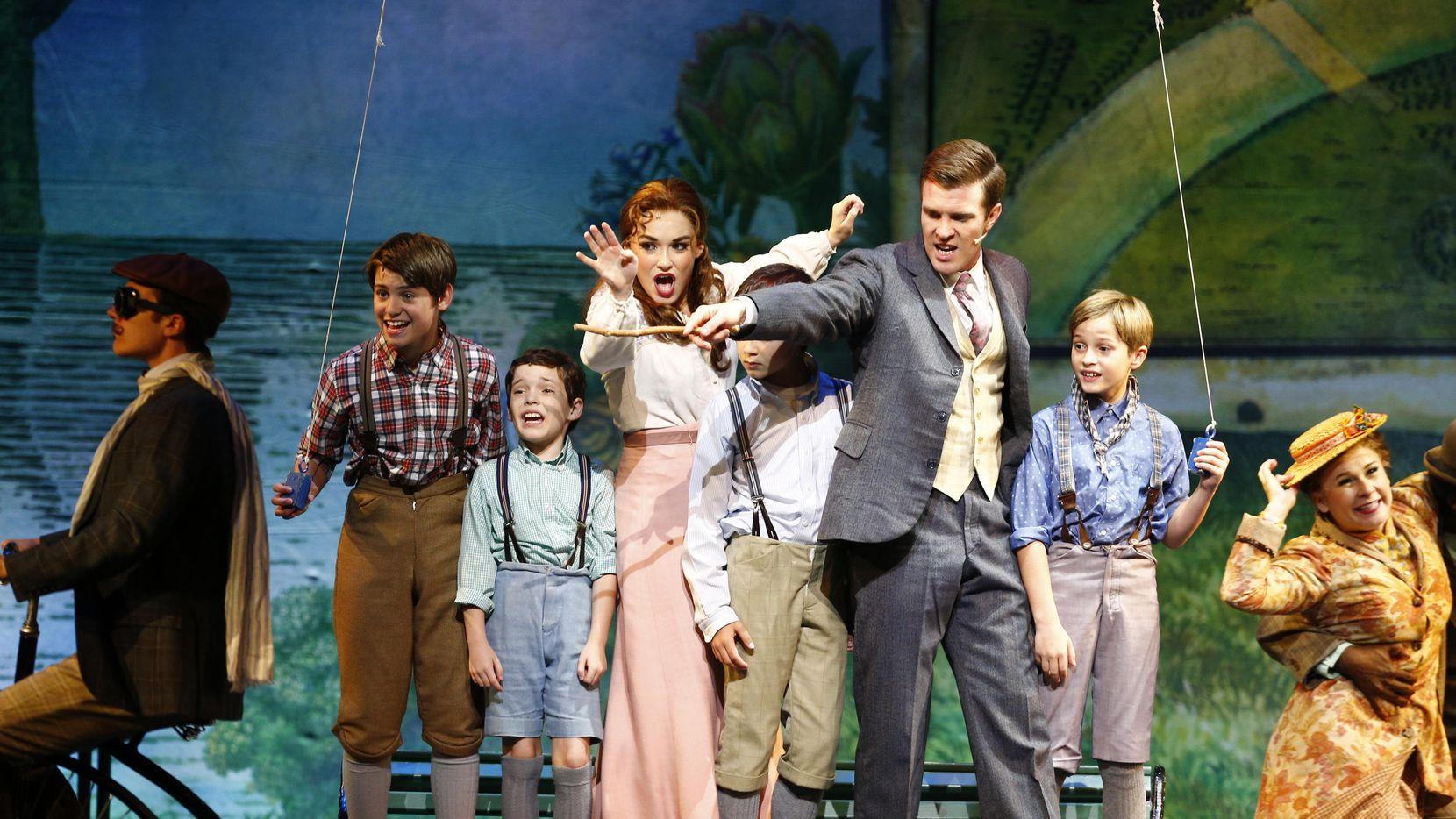 El musical Finding Neverland se presenta desde esta semana en el Winspear Opera House. Foto DMN