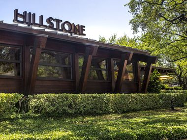 Hillstone restaurant in University Park in Dallas on Tuesday, May 5, 2020.