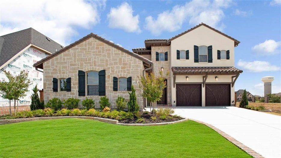 One of Darling Homes' new houses in Frisco.