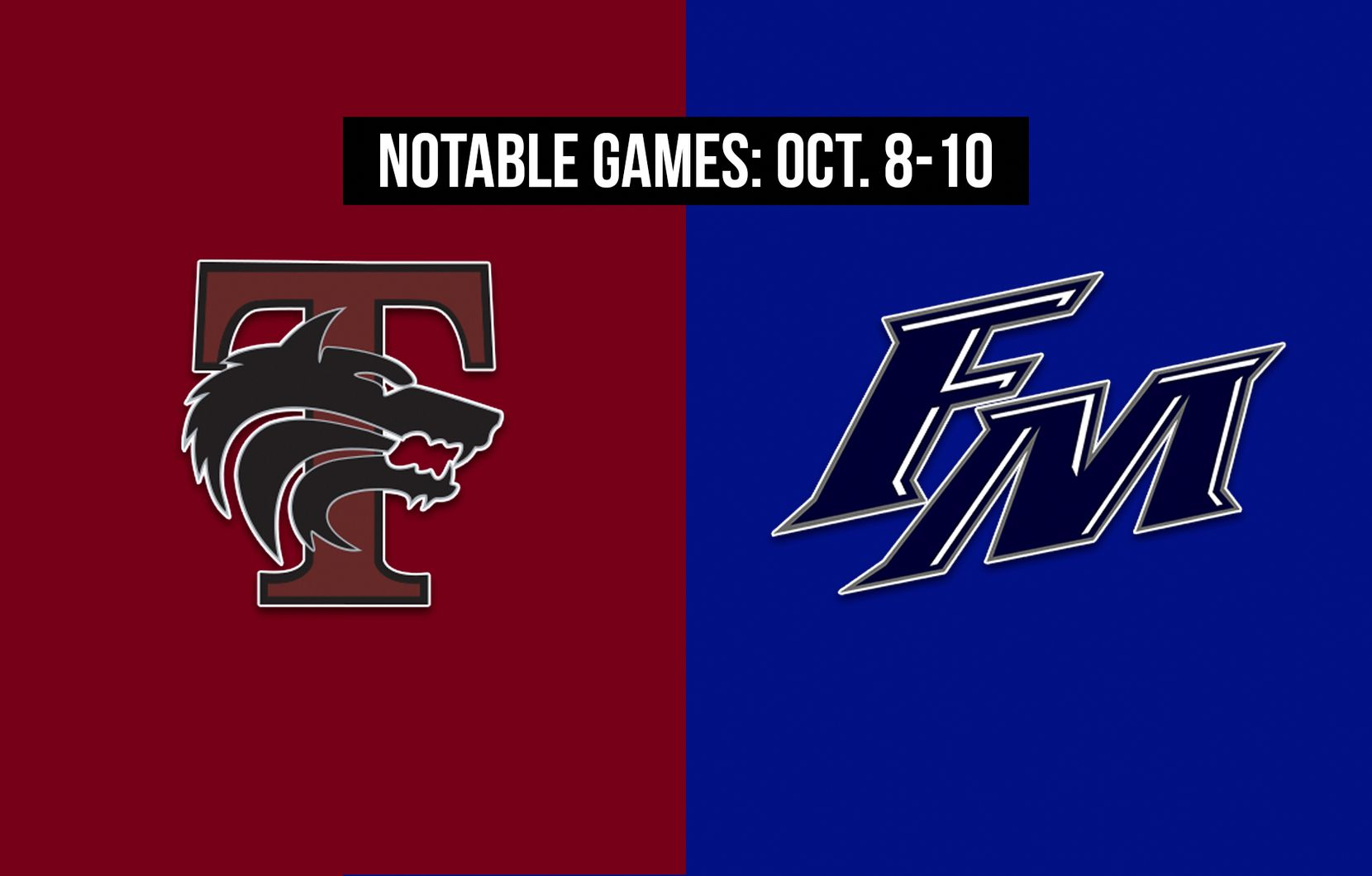 Notable games for the week of Oct. 8-10 of the 2020 season: Mansfield Timberview vs. Flower Mound.
