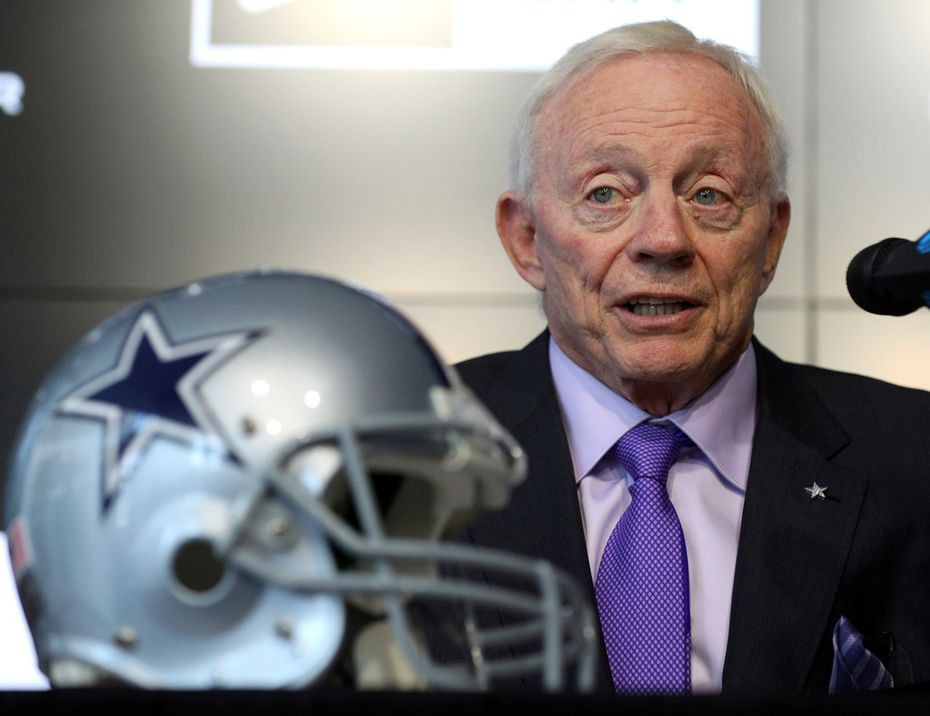 Dallas Cowboys owner Jerry Jones (AP Photo/Richard W. Rodriguez)