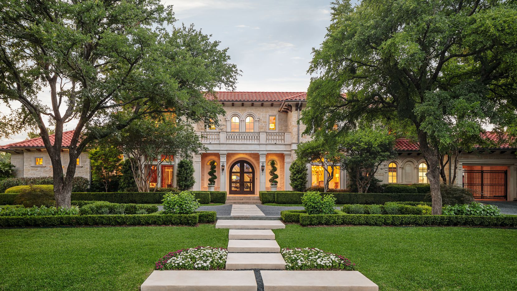 This home at 5027 Radbrook Place in Dallas' Preston Hollow neighborhood is listed for $4,795,000.