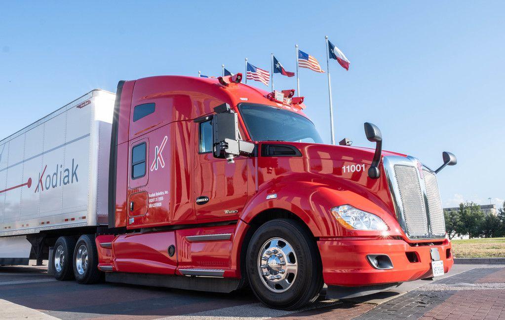 Kodiak Robotics, a self-driving truck startup, has chosen Dallas as its home base.