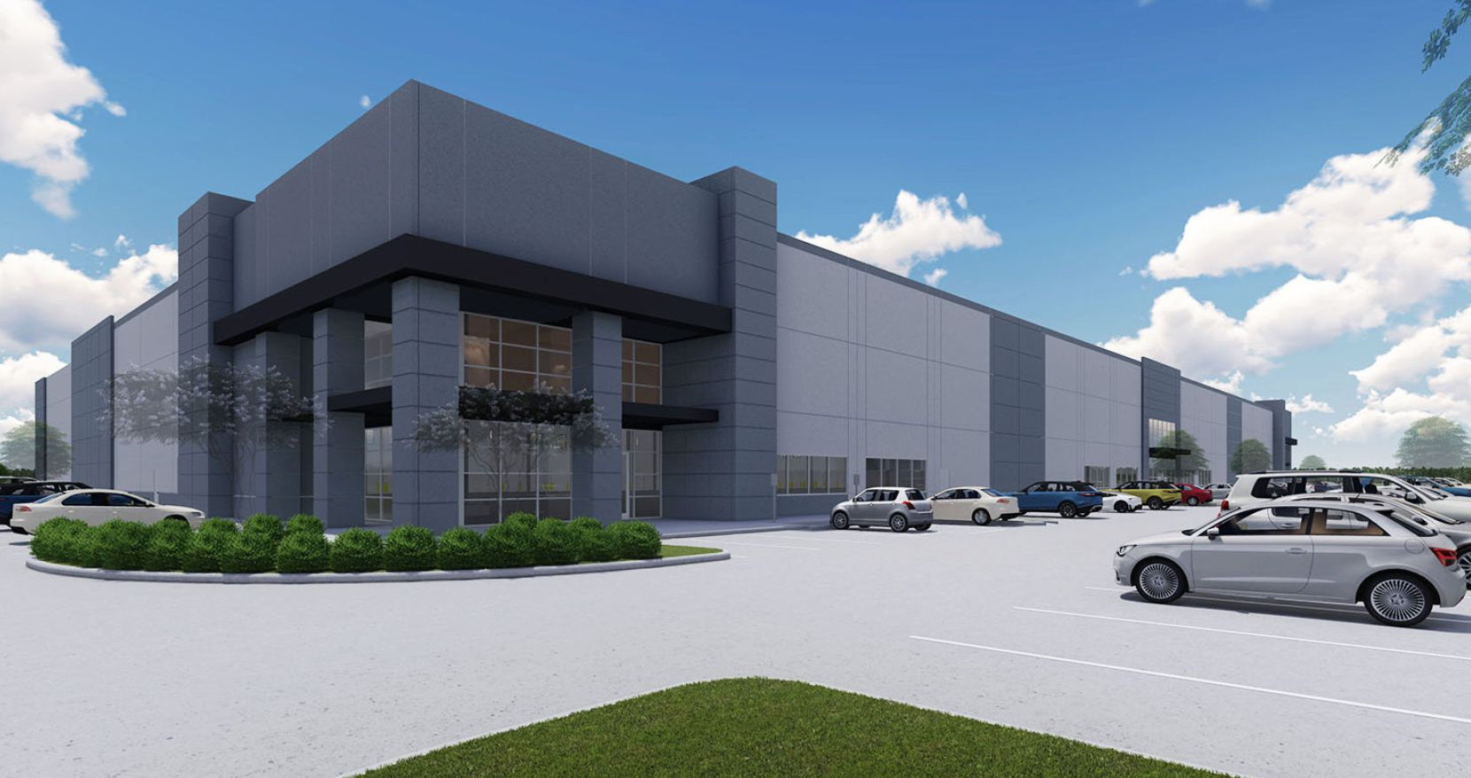 Elite Materials & Logistics Solutions has rented space in the new Denton Crossing @ I-35 industrial park.