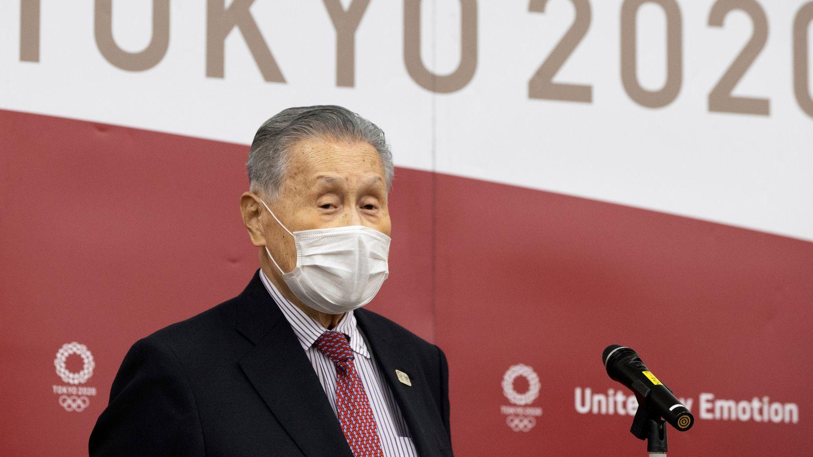 El presidente del Comité Organizador de los Juegos Olímpicos de Tokio, Yoshiro Moriokyo, está en medio de una fuerte presión para que renuncie a su puesto.
