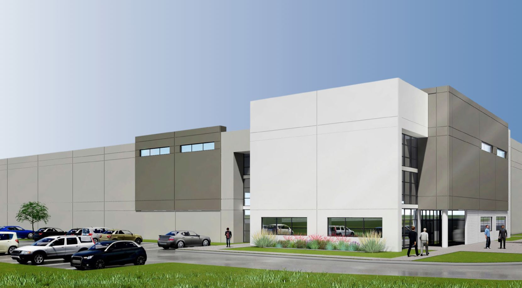 Developer Hillwood Investment Properties is building the Commerce 635 business park in Balch Springs.