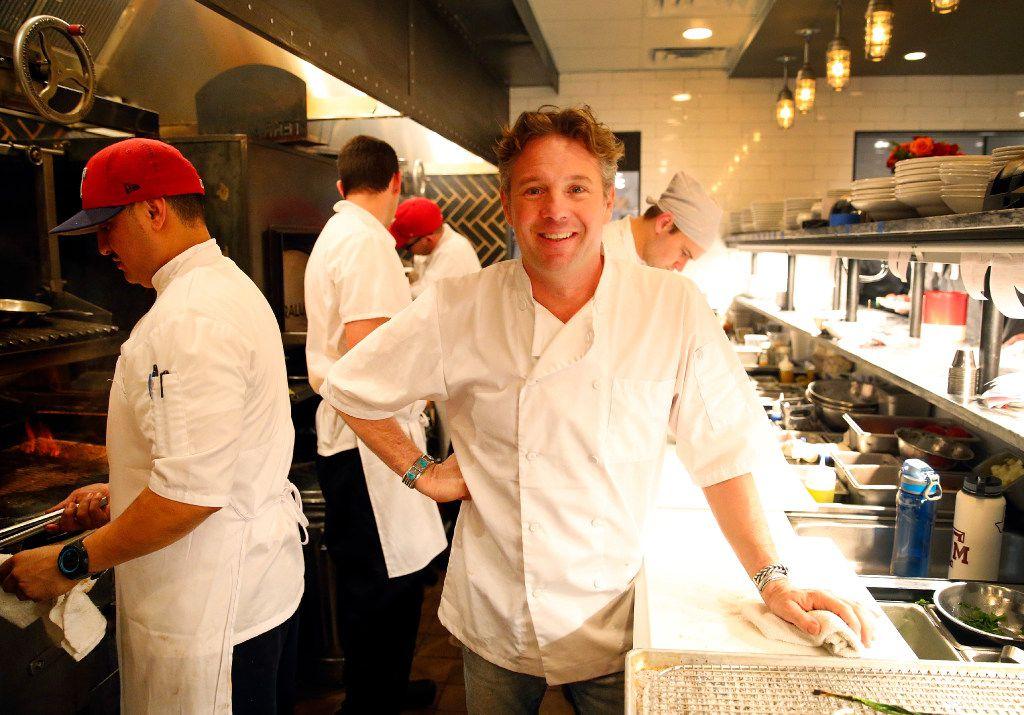 Town Hearth chef-owner Nick Badovinus (Tom Fox/The Dallas Morning News)