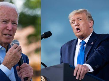 Joe Biden y Donald Trump se medirán en tres debates televisados antes de la elección presidencial del 3 de noviembre.
