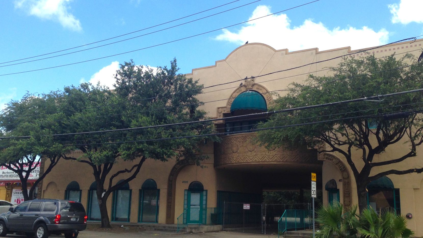 Originally built for the Greater Dallas Hispanic Chamber of Commerce, the building at 4622 Maple Avenue will be renovated into office and retail space.