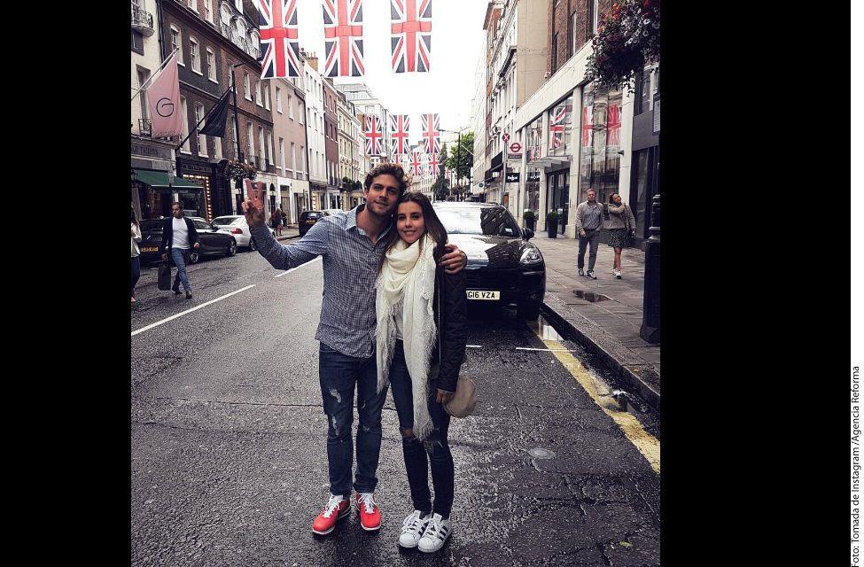 Praga y Barcelona son ciudades que Paulian Goto y Horacio Pancheri ya visitaron y de esta visita dejaron constancia en la cuenta de Instagram de ambos./AGENCIA REFORMA