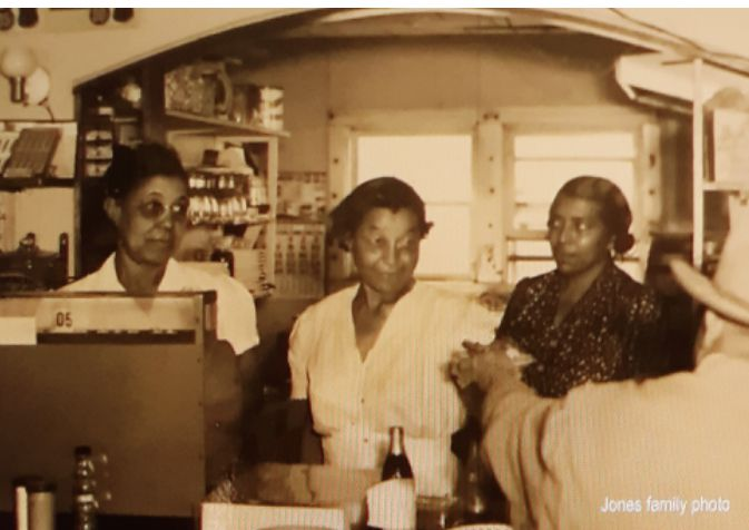 The women who ran one of Texas' first integrated restaurants in Southlake were (from left) Elnora Jones, Lula Jones and Annie Jones.