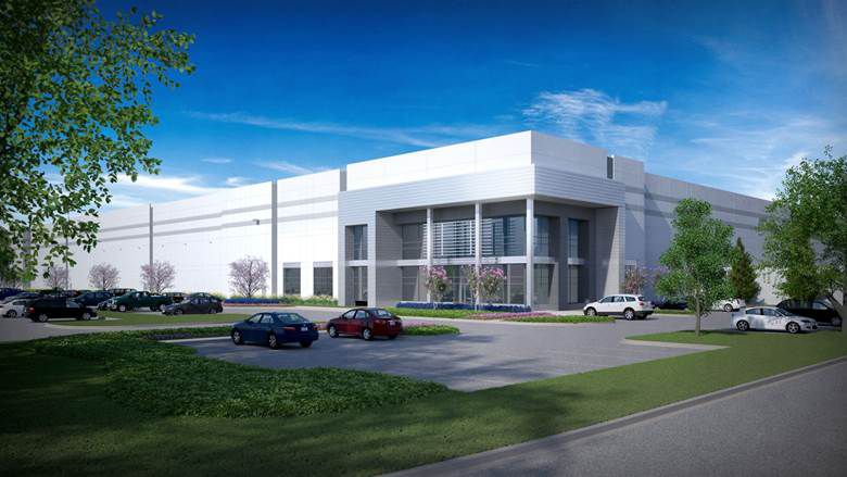 The Alliance Center East 1 building is on Interstate 35W in Hillwood's AllianceTexas community.