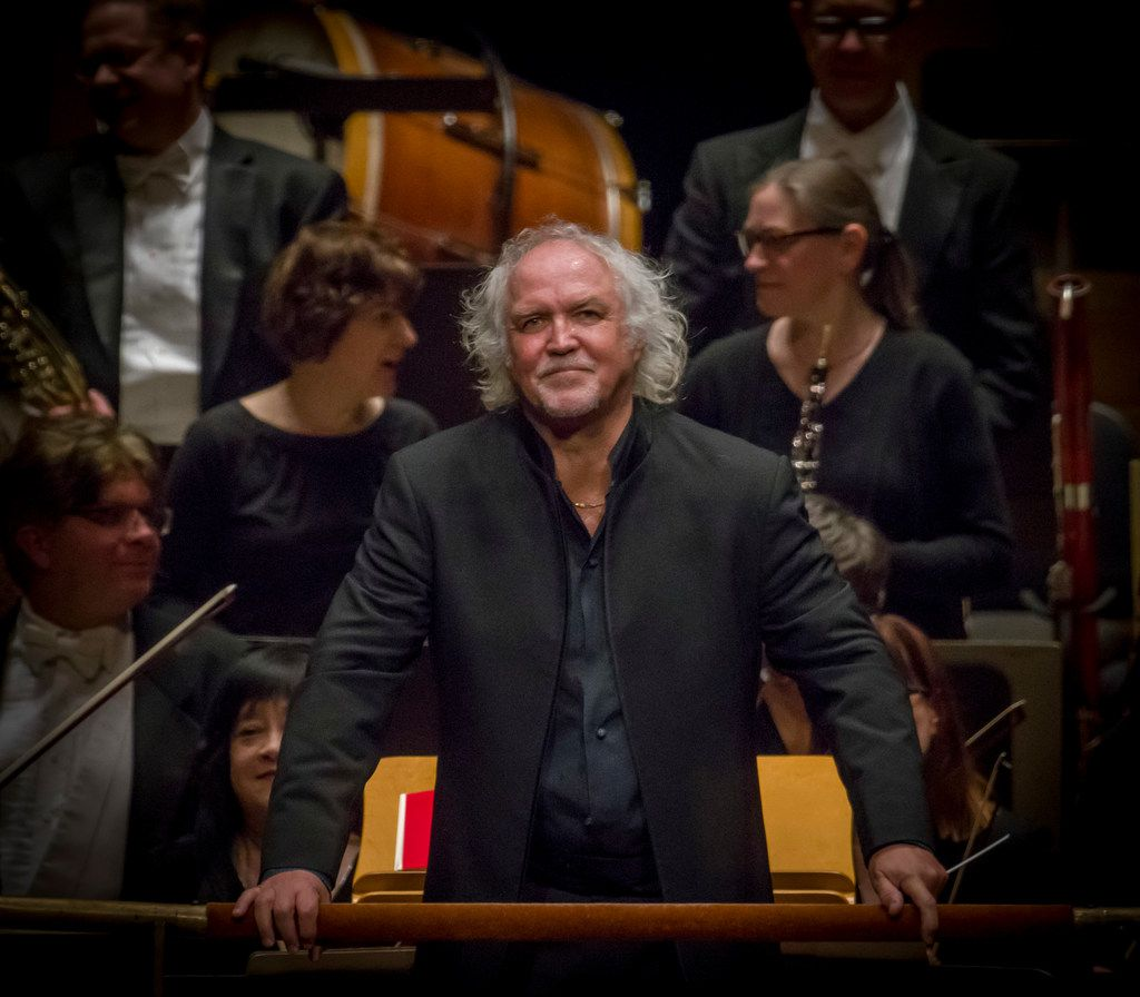 Donald Runnicles, guest conductor of the Dallas Symphony Orchestra on Jan. 10, 2019