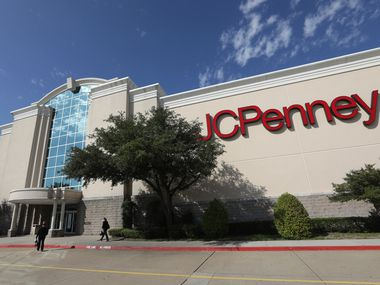 The Stonebriar Mall J.C. Penney store in Frisco is shown earlier this month. The sale of the company is now expected to close Monday.
