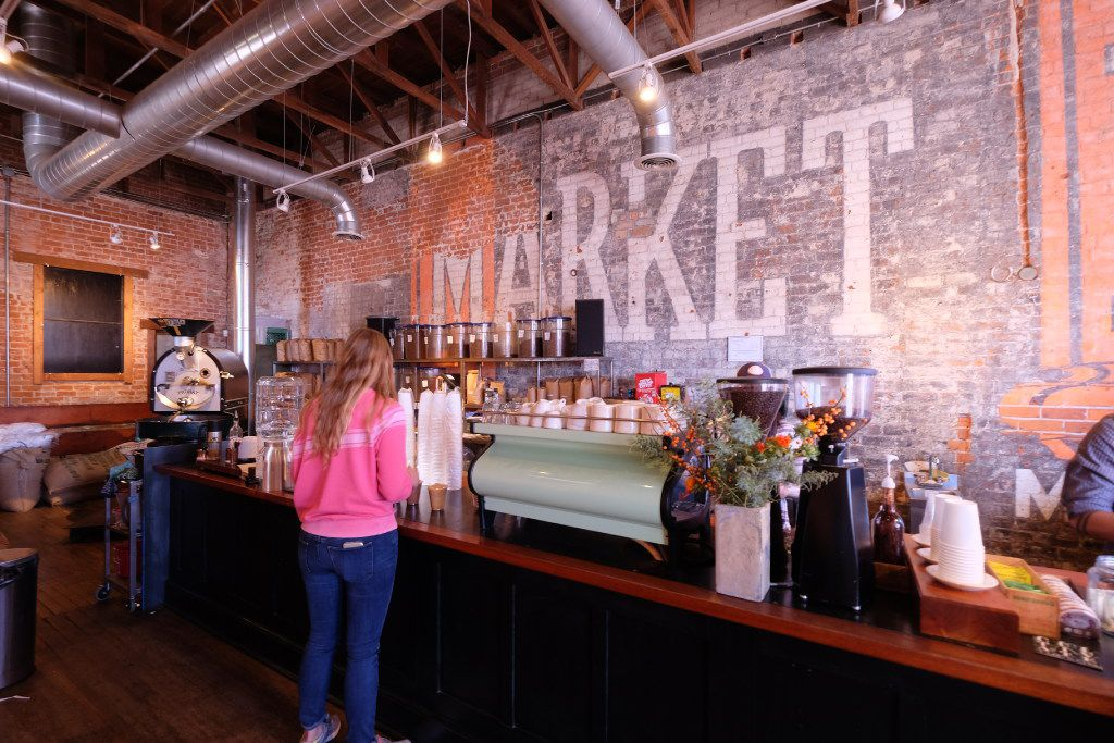 Exo coffee shop in central Tucson makes a great cup of espresso and has an artsy vibe.