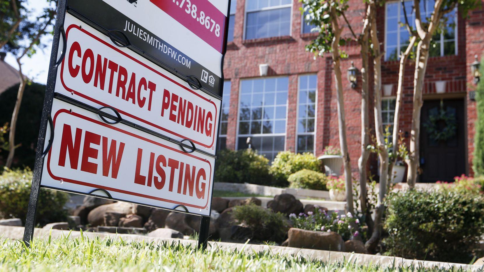 """Los precios de las casas en Dallas continúan aumentando, pero analisas del mercado sugieron que podría darse una """"corrección"""" en el mercado."""