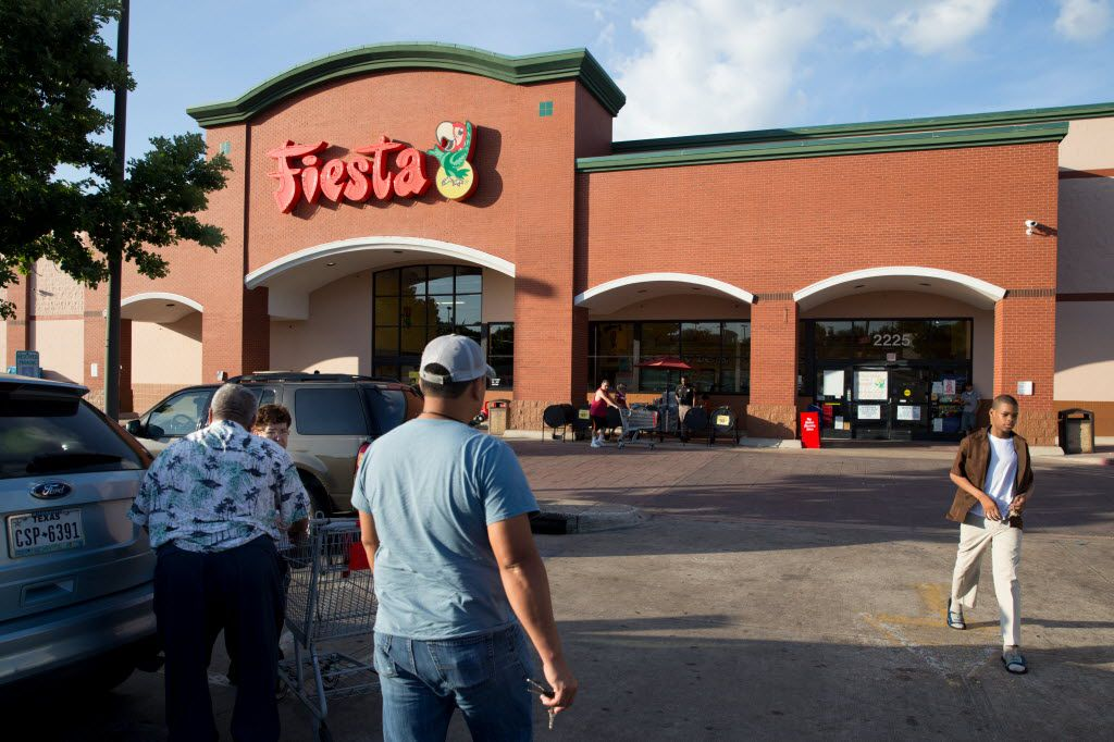 Texas' largest Hispanic grocer, Fiesta Mart, is being acquired by the operator of El Super stores to form a company with $3 billion in annual sales.