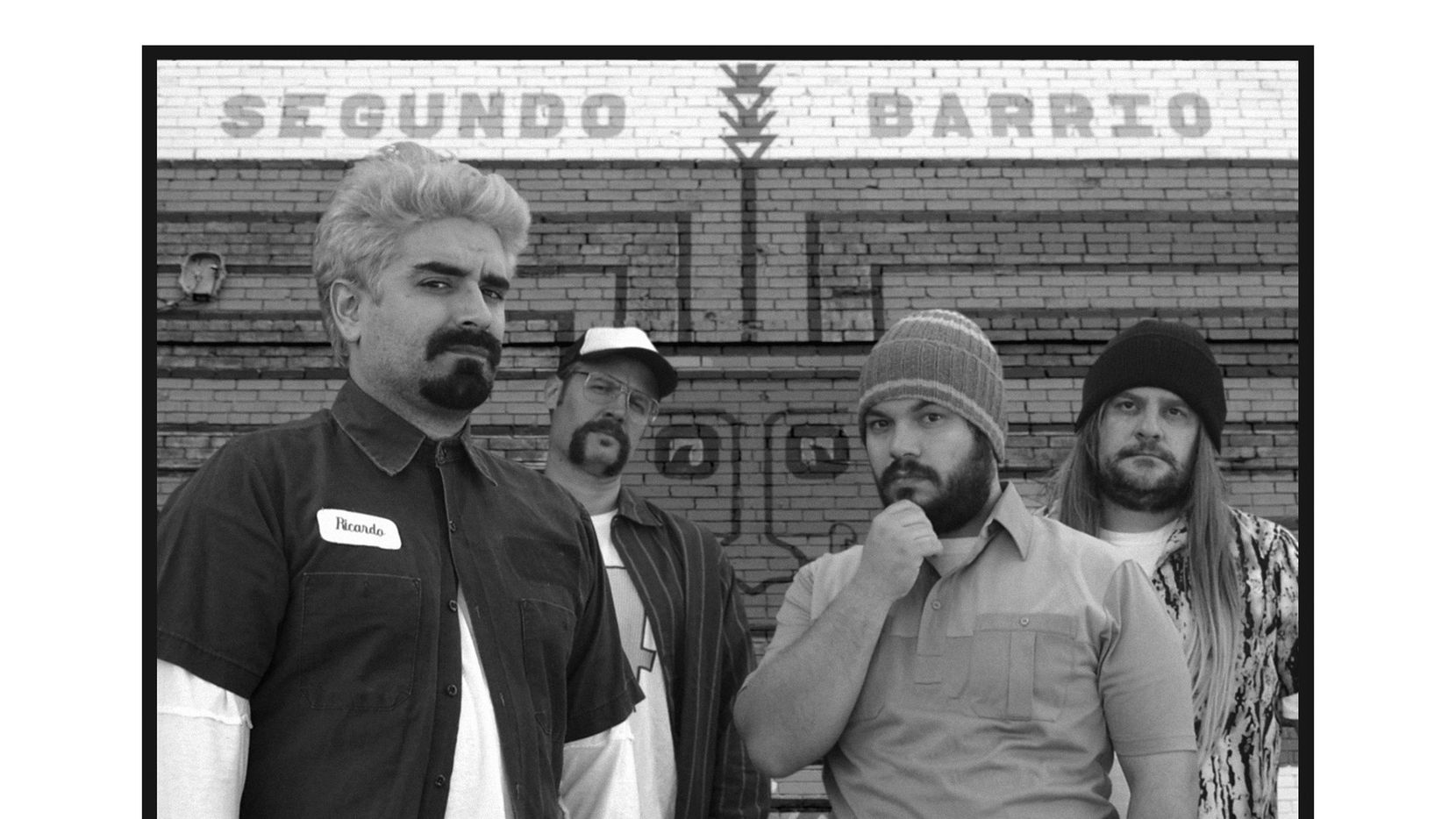 """The promotional art may look real, but ELPASO is a fictional band from Benjamin Villegas' novel """"ELPASO: A Punk Story."""""""