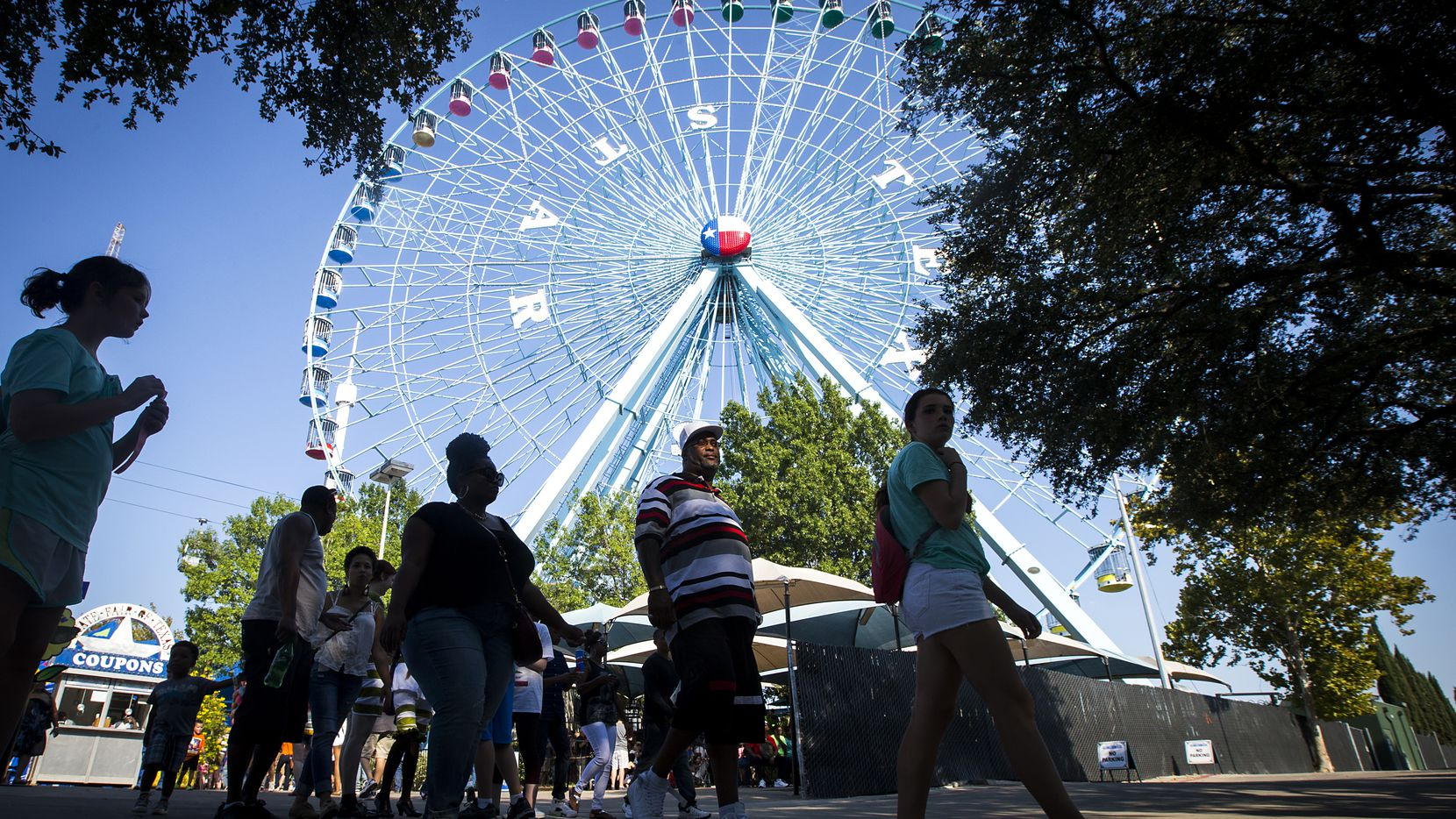 In 2020, fairgoers can drive through the State Fair of Texas and buy Fletcher's corny dogs, Jack's French Fries, Stiffler's Fried Oreos and other famous items. Interested attendees have to reserve a spot and pay in advance.