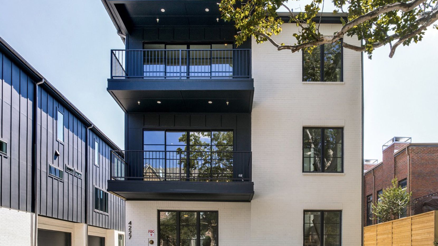 These two-bedroom units at the new Holland Townhomes development are priced from $625,000 to $699,000.