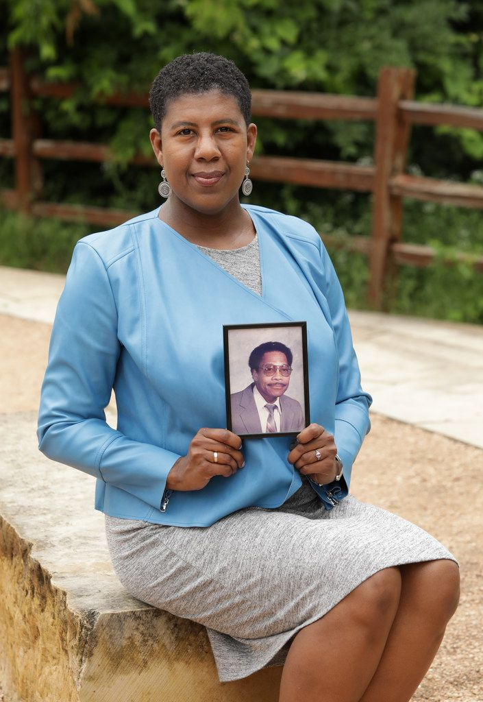Bernadette Davis began looking at care for her father, Charles Adams, before his Parkinson's disease advanced to the need for full-time care.