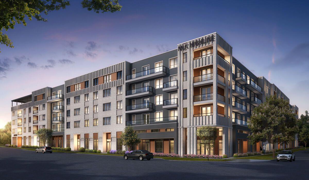 Uno de los complejos de apartamentos de Urban Genesis LLC en Dallas.