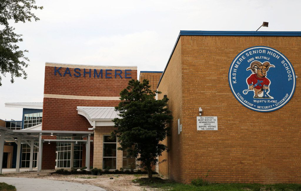 Kashmere Senior High School is one of the chronically low-performing campuses in Houston. It's one of four schools whose performance this year will determine whether the state takes over the district.