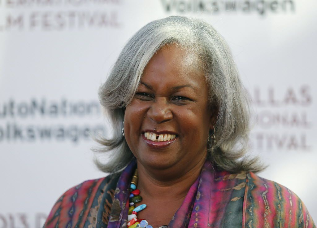 Sharon Robinson walked the red carpet giving interviews to promote the movie 42 -- about her late father, Jackie Robinson -- before a screening at the Angelika Film Center during the 2013 Dallas Film Festival.