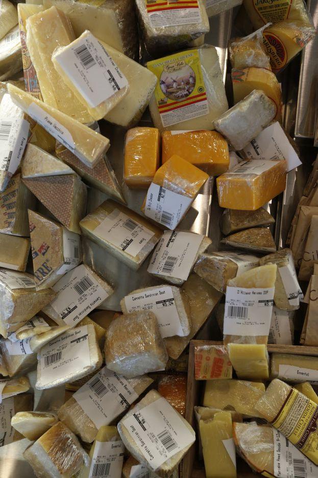 Assorted cheeses at Cibo Divino, Friday, May 1, 2015. (Brandon Wade/Special Contributor)