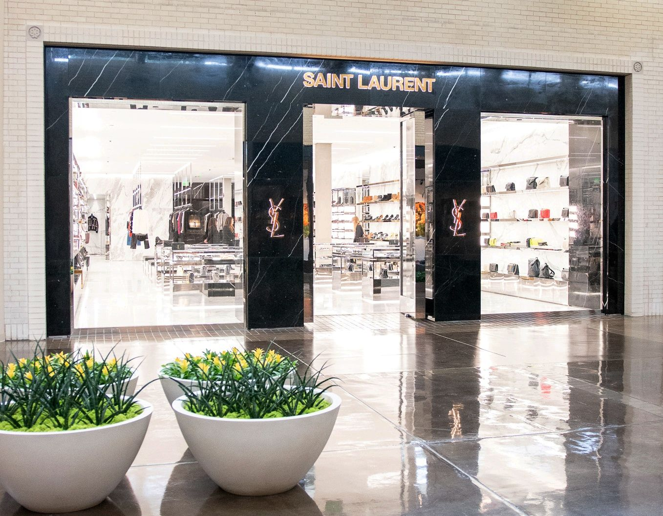 Saint Laurent opened in June 2019 at NorthPark Center in Dallas.