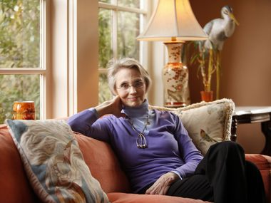 Virginia McAlester photographed in her Swiss Ave home in 2011.