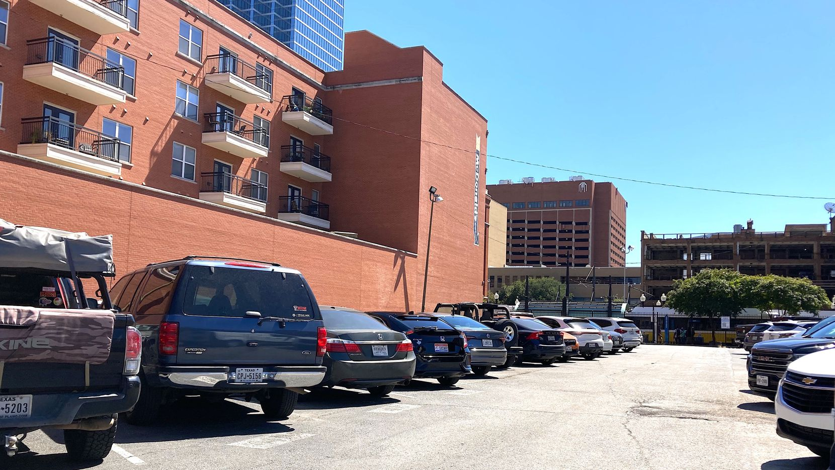 One of the properties sold is adjacent to DART's West End rail station.