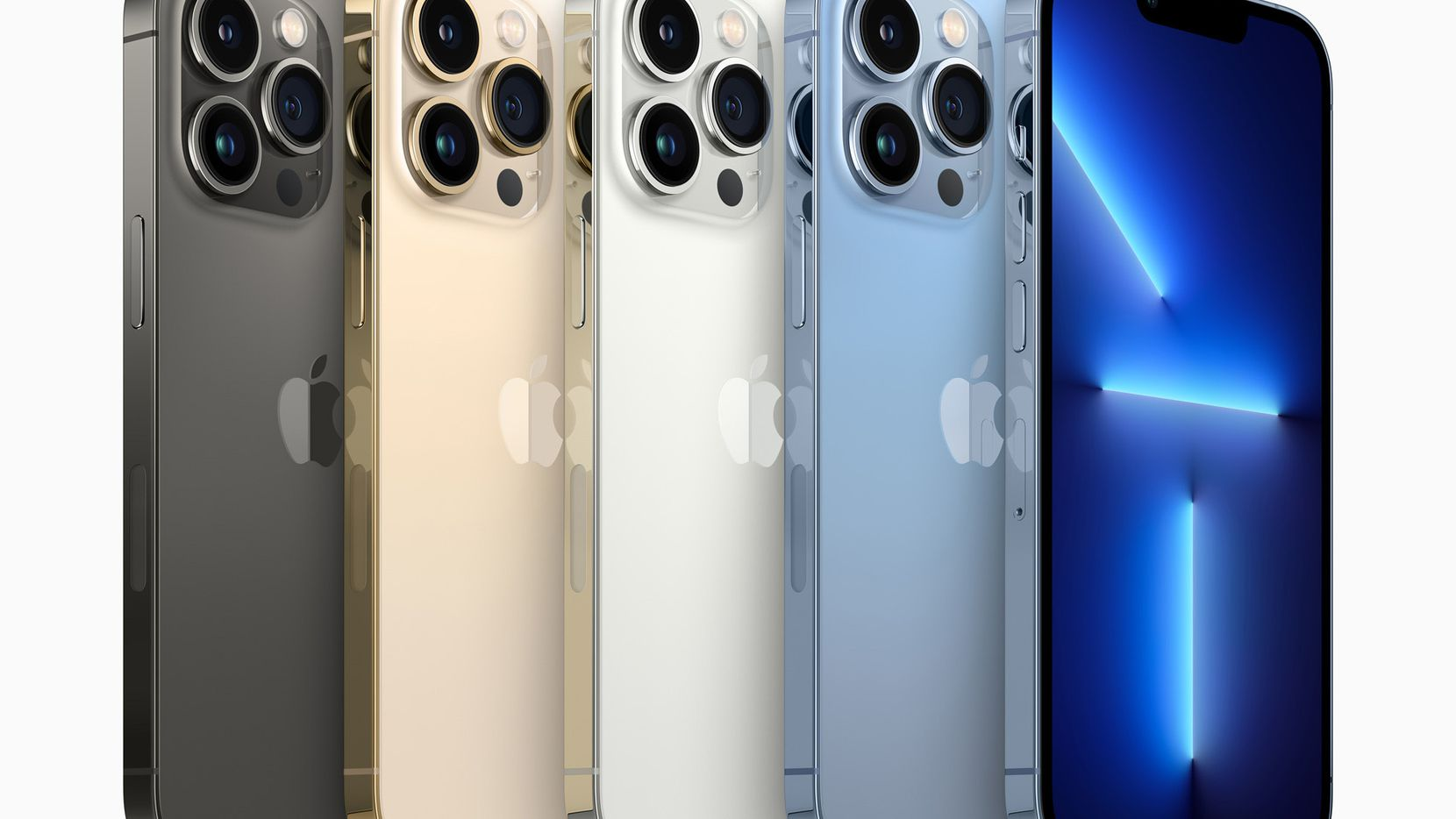 The iPhone 13 Pro Max comes in four colors.