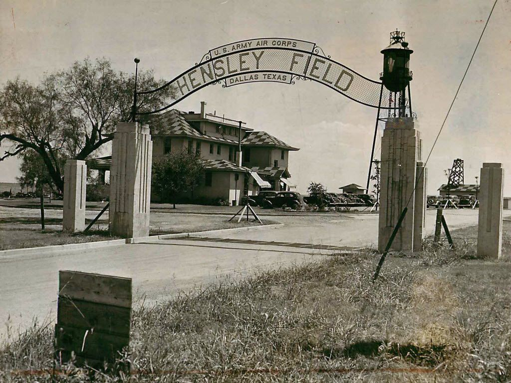 Dallas Naval Air Station's Hensley Field in the 1930s.