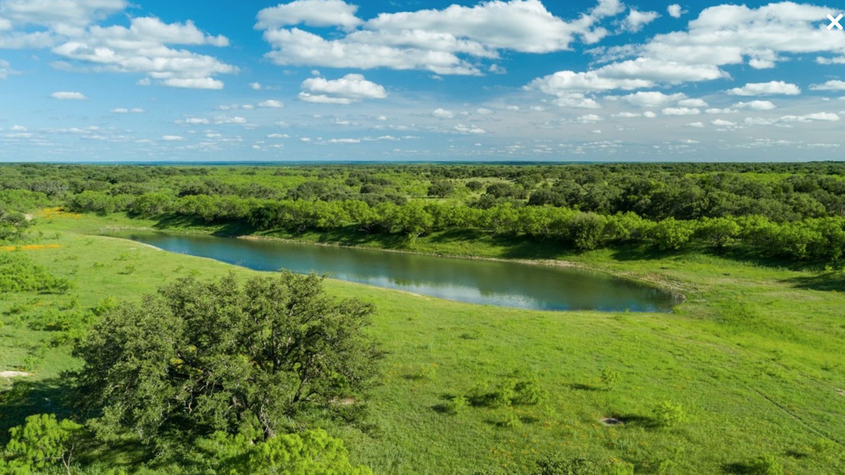The almost 33,000-square Ford Ranch is between Austin and San Angelo.