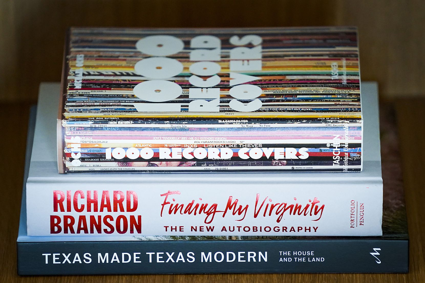 The autobiography of Virgin Group founder Sir Richard Branson is on the nightstand at the new Virgin Hotels Dallas.